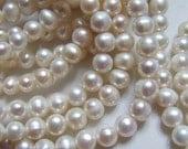 Freshwater Pearls, White ROUND Pearl, Cultured, 4-5 mm, round off round June birthstone brides bridal rw pearl 45