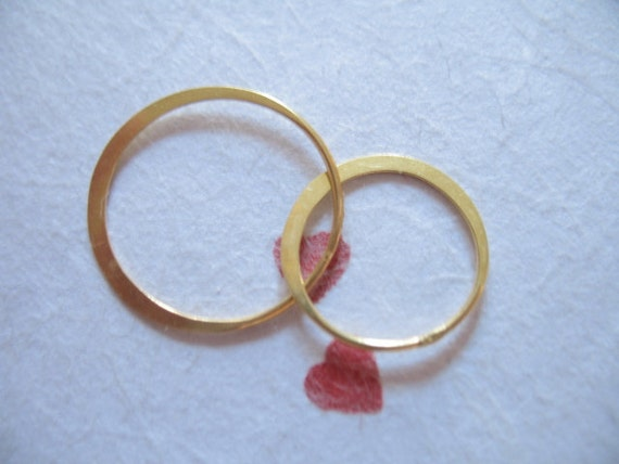 Shop Sale.. 1 2 5 10 pc, 24k Gold Vermeil Links Connectors Eternity Rings, DOUBLE Circles, 27x17 mm, Couples Jewelry Love Eternity Link art