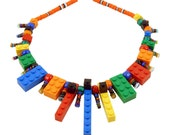 LEGO PLAYS WITH HAND MADE GLASS PIECES