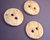 Ceramic Buttons Set Nature Theme