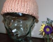 Small Blush Pink Hat
