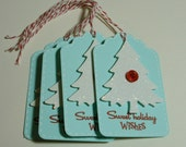 The White Tree Tags - Set of Four