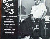 Basie Jam No.3. Eddie Lockjaw Davis, Joe Pass, Clark Terry, Benny Carter, Al Grey, Louie Bellson, John Heard. Pablo 2310-840 1979