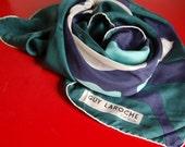Vintage Guy Laroche Paris silk scarf