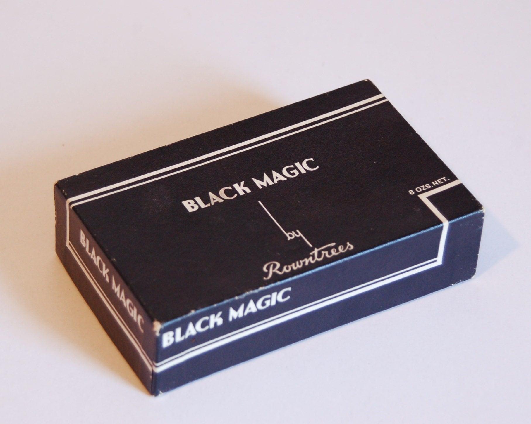 Art Deco Black Magic Chocolate Box By Floraandfaundesign