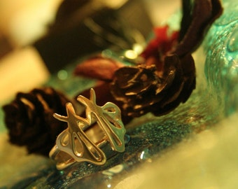Butterfly Whirling Dervish Ring