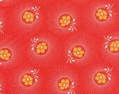 Sale - Deer Valley Floral Drop in Persimmon by Joel Dewberry for Free Spirit - Last Yard