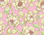 Freshcut Cabbage Rose in Pinky Purple by Heather Bailey for Free Spirit - 1 Yard