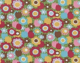 Sale Cutie Pie 5704 Green by A Hoodie Design for Blank Quilting -1 Yard