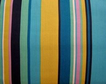 Good Earth Stripe in Pool by Alexander Henry - 1 Yard