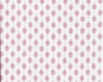 Sale Soleil Papier in Rose by Annette Tatum for Free Spirit - 1 Yard