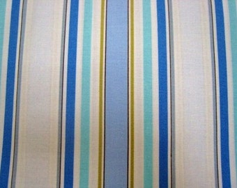 Sale - Leanika Stripe in Blue by Dena Design for Free Spirit - 1 Yard