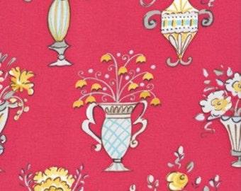 Tea Garden Chai in Red by Dena Designs for Free Spirit - 1 Yard