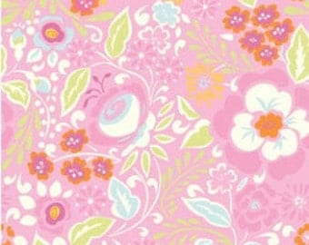 Taza Lisa in Pink by Dena Designs for Free Spirit - 1 Yard