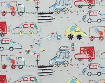 Crayon Commute in Slate by Alexander Henry - 1 yard