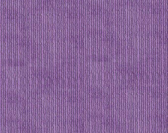 Pumpkin Gang Skinny Stripe in Purple by Studio E - 1 Yard