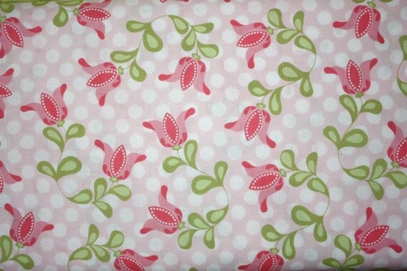 Marabella Medium Tulips in Pink by Amy Hamberlin for Henry Glass - Final Yard
