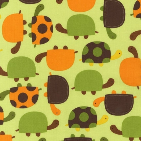 Urban Zoologie Turtles in Bermuda by Ann Kelle for Robert Kaufman - 2 Yards reserved for CrystalsCarryOut
