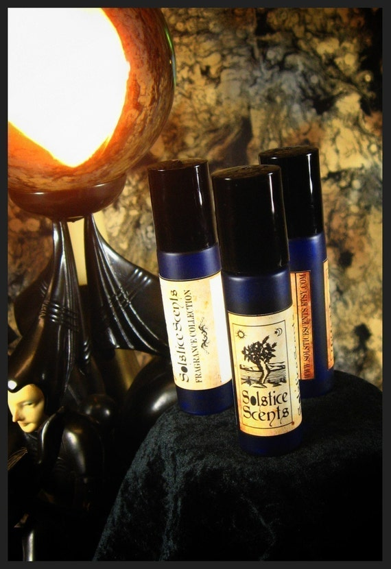 CONJURE PERFUME - A Magical Blend of Vanilla, Amber, Cedar, Spices and Cauldron Smoke