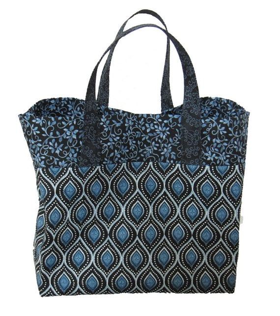 pdf Pattern JUST RIGHT TOTE easy to sew handbag by GetSewing