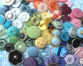 Buttons - Instant Button collection - Button collection starter pack or stash builder - mixed bulk lot