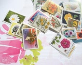 25 postage stamps - mixed theme goodie bag