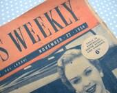 Vintage 1950's Womens weekly magazine