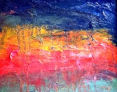 Storm  Abstract oil painting by Jean Macaluso