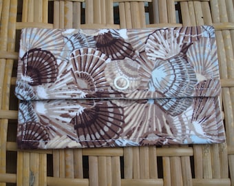 Fabric Wallet - Womens Fabric Wallet - Fabric Wallet Woman - Cloth Wallet - Rewards Card Holder - Business Card Wallet