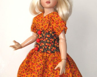 Autumn Berries Outfit for Kish 14 Inch Lark Doll