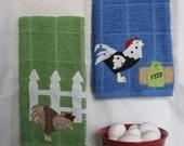 Chicken Kitchen Towel set