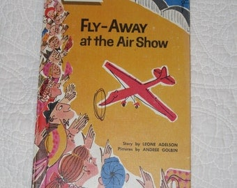 Fly-Away at the Air Show vintage easy reader book