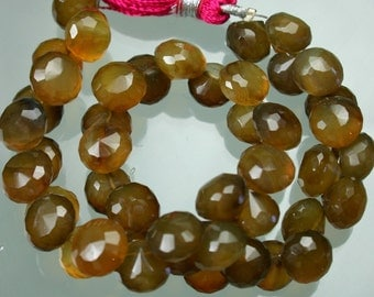 StoneyMarie ...1/2 Strand Chalcedony Faceted Onion Briolettes