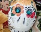 Frida Viva la Vida Sugar Skull