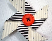 RESERVED For  A Life So Peachy  --Pinwheel Clip