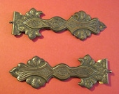 1890 Brass Hinges Two Pieces