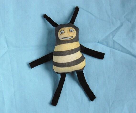 Catnip Toy - Fat Bee