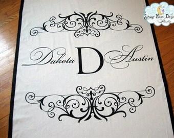 Aisle Runner, Wedding Aisle Runner ,Custom Wedding Aisle Runner //Quality Fabric that Won't Rip or Tear