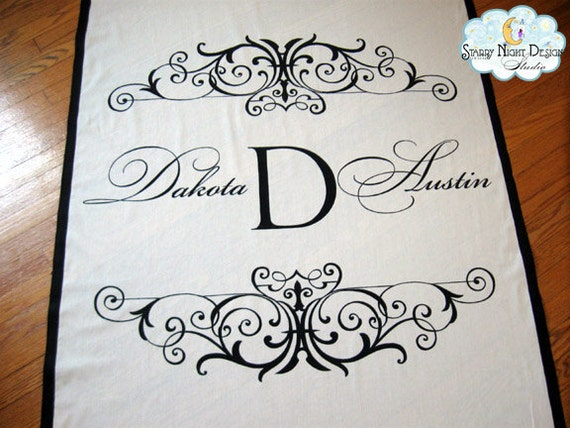 personalized aisle runners wedding ceremony cheap