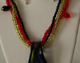 Swirl Pendant Necklace