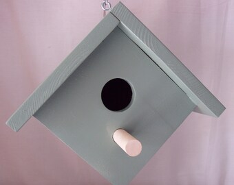 Light Green Color Cleanable Bird House