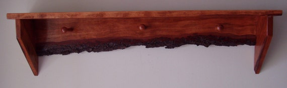 Solid Cherry Country Look Shelf