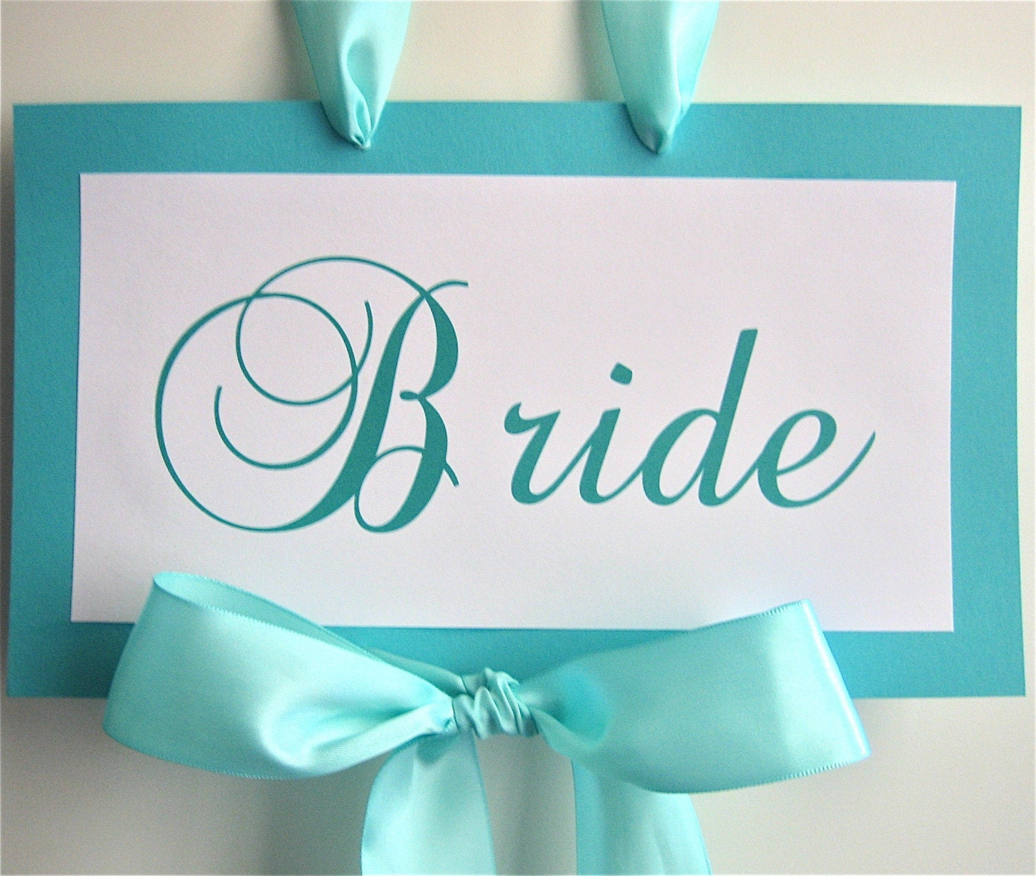 Bride And Groom Chair Sashes 2 Pc Set By PinkAvenueBride