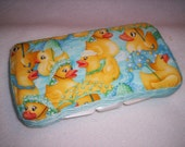 Reserved for BareSocks Crafts Baby Wipe Case