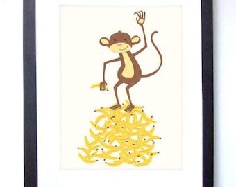Go Bananas Print 8x10