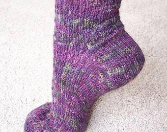 Pattern - Socks - Slip One Skip Two