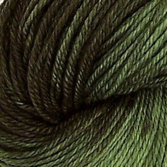 Hand Painted Sock Yarn - Forest