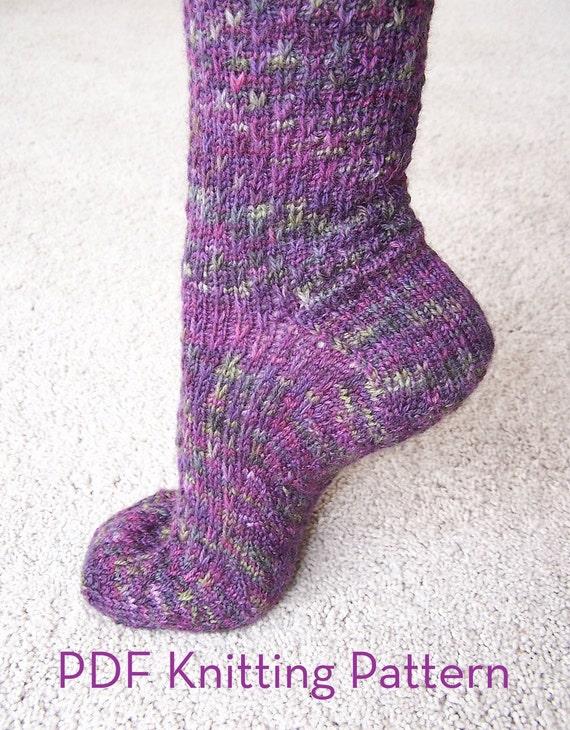 Pattern - Socks - Slip One Skip Two