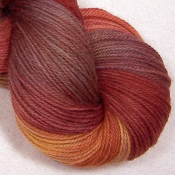 Hand Dyed Sock Yarn - Autumn Hills