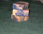 Lavender Goat's Milk Swirl Soap